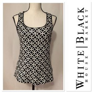 White House Black Market top with sequins